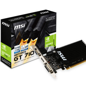 TARJETA GRÁFICA MSI GT 710 1GB GDDR3